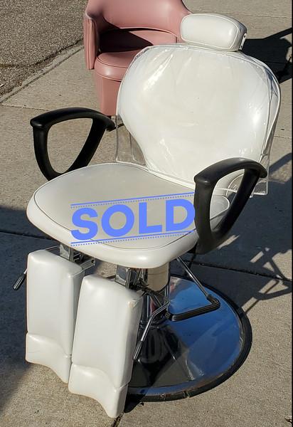 Vintage Salon Shampoo Chair