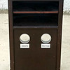 Solid Wood Waste Bins