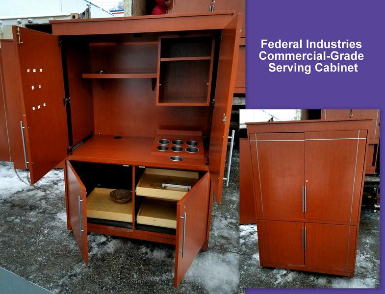 Commercial Serving Cabinet