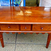 Vintage Solid Wood Desk.  51 x 31 x 29.  <b>$350</b>