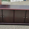 Dark Cherry Office Credenza