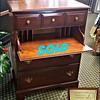 Vintage Secretary Chest of Drawers