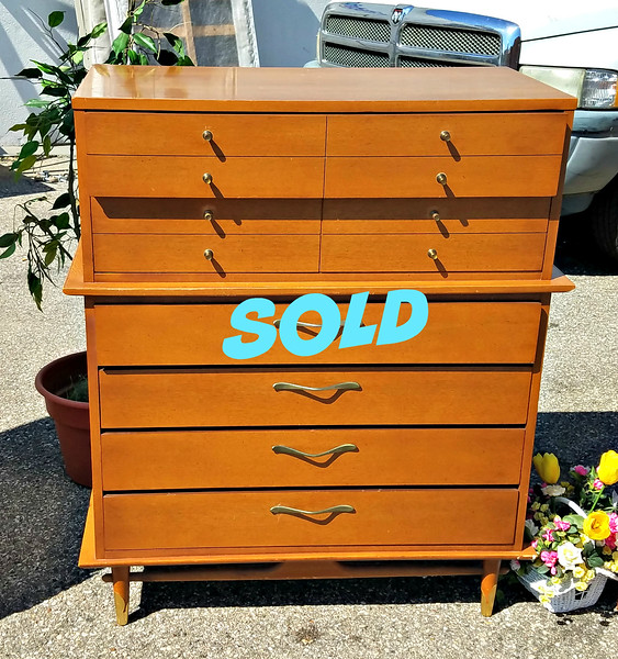 Lane Hard Rock Maple Chest of Drawers