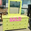 Festive Mirrored Dresser