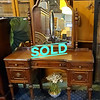 Antique Victorian Mirrored Vanity