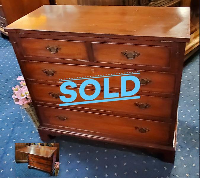 Flip Top Secretary Desk / Dresser