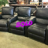 Leather Reclining Sofa Chairs