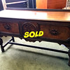 <b>Available at our Livernois Store Location - (313) 345-0884. </b>Antique <i>Berkey &amp; Gay</i> Jacobean Server Buffet.