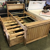 Brand New Solid Wood Trundle Bed