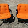 Set of 2 Retro Swivel Chairs