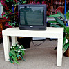 Frost White TV Stand