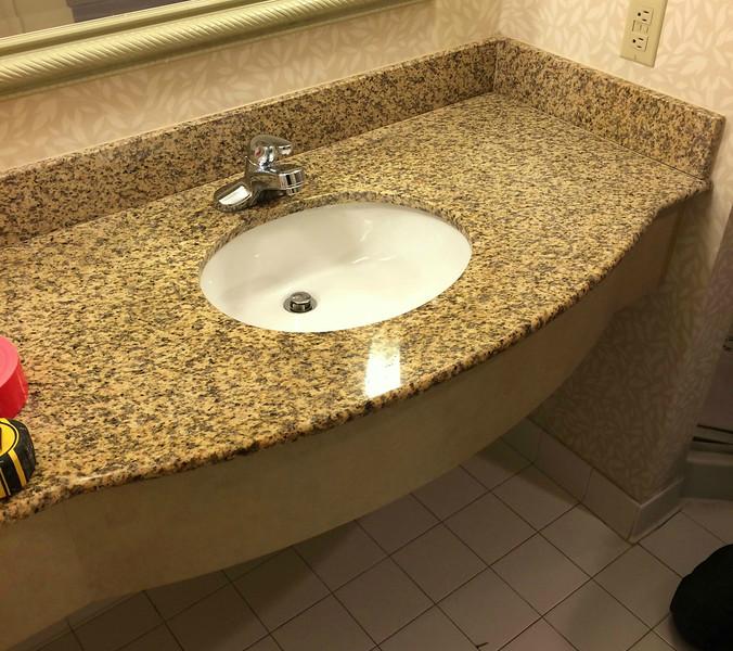 Complete Bathroom Countertop & Sink Set