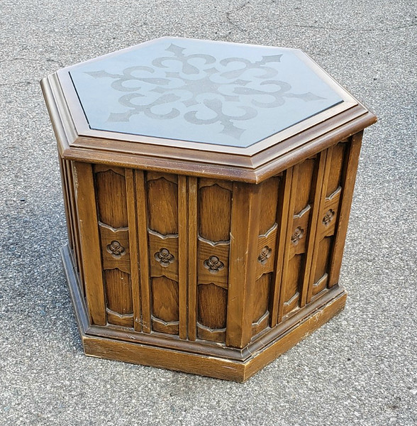 70's End Table
