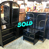Black Lacquer Bedroom Set