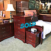 Mahogany Sleigh Bedroom Set