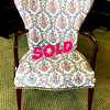 Mahogant Accent Chair