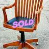 Solid Wood Frame Office Chair