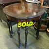 Antique 6 Leg Accent Table