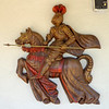 Roman Knight Gladiator on Horse in Full Regalia Wall Art.  25 x 24.  <b>$35</b>