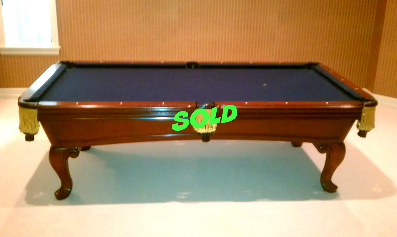 Ordinaire AMF Highland Series St. Magnus Limited Edition Pool Table. Custom