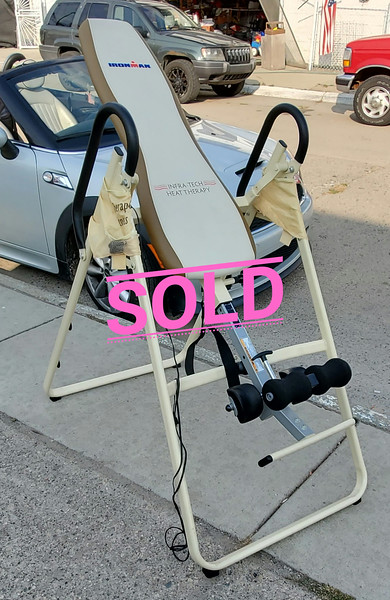 Heat Therapy Inversion Table