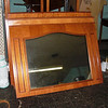 Elegant Gently Used 59 x 43 Wood-Trimmed Mantle Mirrors.  These beautiful decorative mantle mirrors can quickly add a touch of class and sophistication to any mantle area or other area inside your home. These units are in terrific condition and will provide years of durable service to your home. We have a decent supply at the moment, so these may be a good choice for upgrading the look of multiple investment homes or apartment units. Don't let this opportunity pass you by. <b>$50</b>