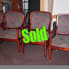 Selection of Good Used Wood-Framed Upholstered Chairs. We've got a limited number of these units and they will certainly meet the needs of people looking for replacement chairs for home dining, reception chairs, or just a few extra chairs to have around the office. You can remove the smooth motion wheels if you prefer.  We always have a lot of interest in these whenever we get a shipment in, so don't wait around too long.  <b>$38</b>
