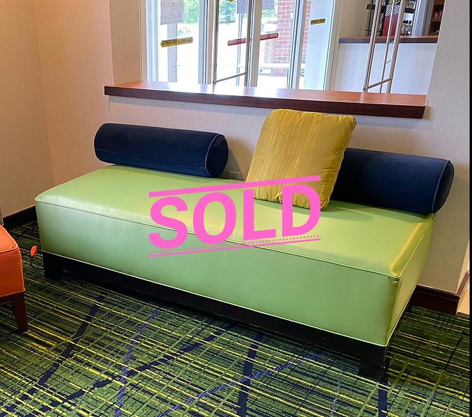 Commercial Grade  Sofa Bench