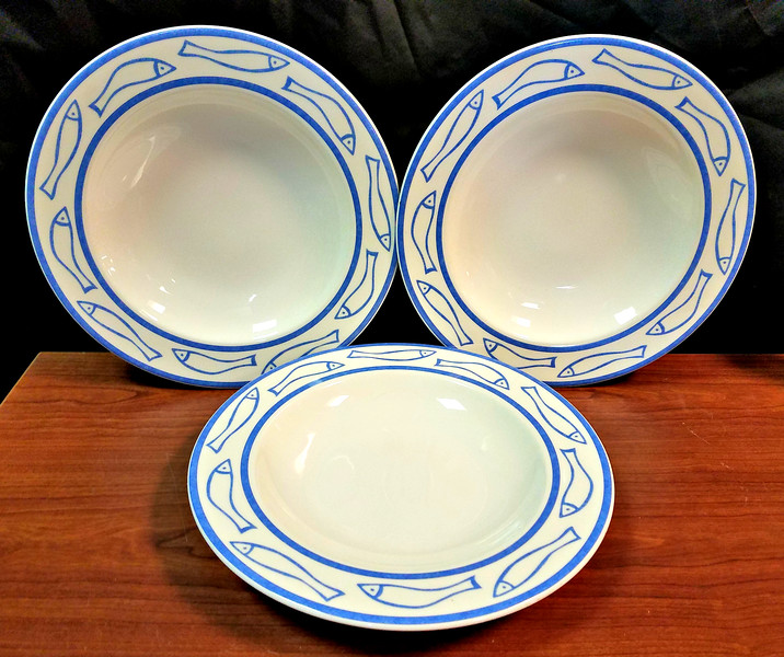 Good Selection of Premium <i>Villeroy &amp; Boch of Luxembourg</i> 11 1/2 Inch Salad Plates.  <b>$7 each.</b>