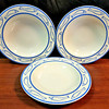 Good Selection of Premium <i>Villeroy & Boch of Luxembourg</i> 11 1/2 Inch Salad Plates.  <b>$7 each.</b>