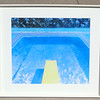 Swimming Pool Diving Board Framed Art.  37 x 2 x 33 1/2.  <b>$30</b>