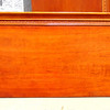 Beautiful Impressively Styled Wood King Headboard.  82 x 29.  <b>$85</b>