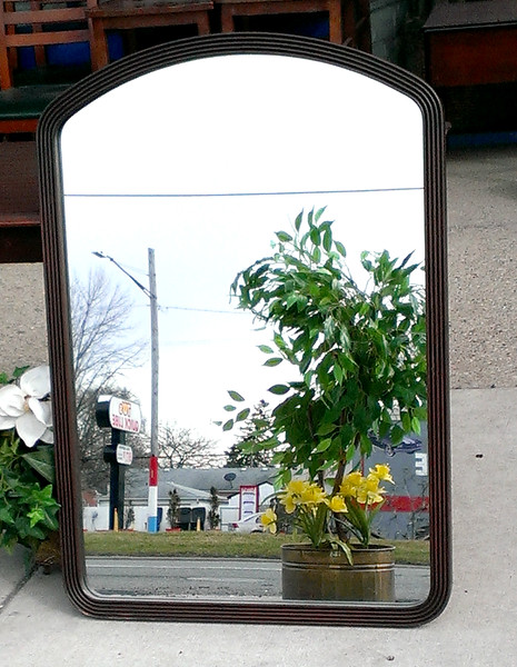 Nice Selection of Decorative Solid Wood Framed Mirrors.  Quality constructed.  30 x 1 x 43 1/2.  <b>$30</b>