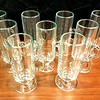 """Good Selection of <i>Libbey 5293 </i>- 8-1/2 Oz. Irish Coffee Glass Mugs.  These versatile glass mugs have a variety of uses, from serving Irish coffee, espresso drinks, ice cream creations, and teas. The mugs hold up to 8-1/2 ounces, and have an overall size of 6-3/8"""" high by 3-5/8"""" diameter (including the handle). It has a tall and slim design with a fluted pedestal base to provide stability on the tabletop.  We have a good inventory of these premium brandy snifters at the moment, so this is a good time for large quantity buyers to stop by.  <b>$3 each</b>"""