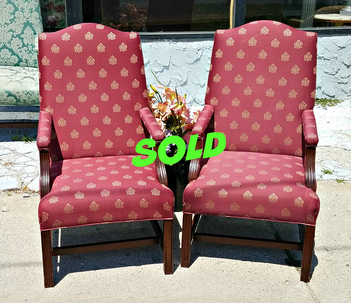Chippendale Accent Chairs
