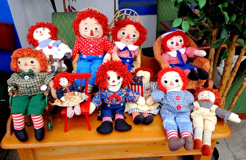 Selection of Rag Dolls.  Raggedy Ann & Andy. <b>Make a Fair Offer</b>