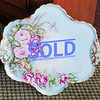 Haviland Hand Painted Serving Tray