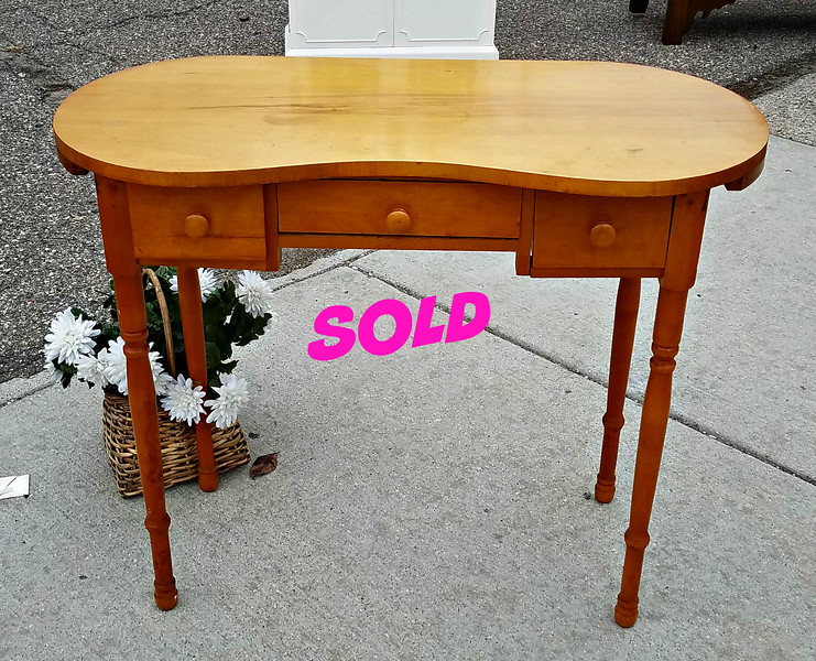 Maple Sewing Table