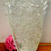 Impressive Frosted Vase.  8 x 10.  <b>$30</b>
