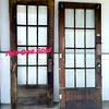 Solid Wood Glass Pane Exterior Doors.  32 x 2 x 79 1/2.   <b>$125 each</b>