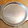 Vintage Pewter Serving Tray. 14 x 11.  <b>$35</b>
