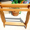 All Wood Towel / Clothing Rack.  32 x 9 x 36.  <b>$30</b>