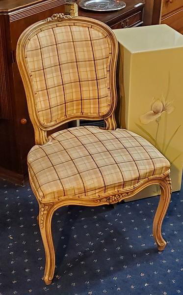 Vintage William A. Berkey Provincial Chair
