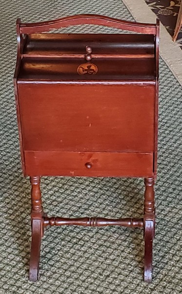 Vintage Sewing Supplies Cabinet