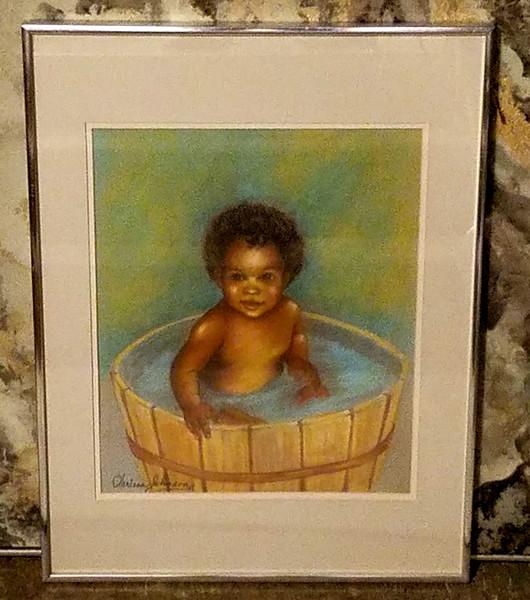 Clarissa Johnson Original Pastel