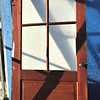 Paneled Glass Door