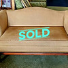 Camel Back Settee Sofa