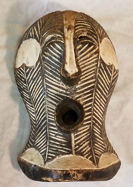 African Anthropomorphic Face Mask