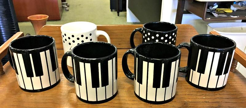 Waechtersbach Piano Mugs