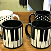 Waechtersbach Piano Mugs